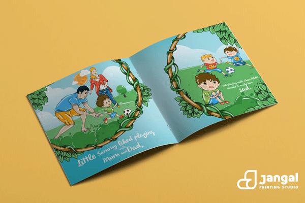ویراستاری مرحله دوم قبل از چاپ کتاب کودک